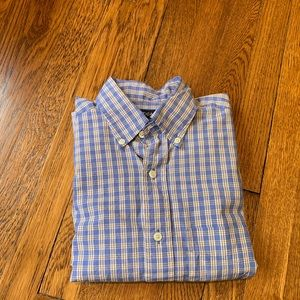 Men's light blue Nautica dress shirt size M